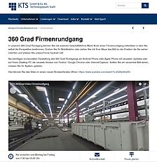 Korrekte Darstellung 360 Grad Video